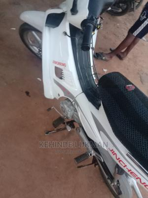 Jincheng JC 110-9 2020 White   Motorcycles & Scooters for sale in Kwara State, Ilorin West