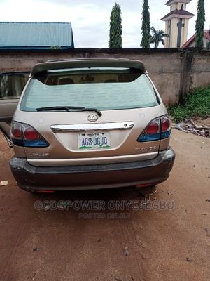 Lexus RX 2002 300 2WD Gold   Cars for sale in Anambra State, Nnewi