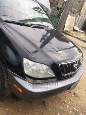 Lexus RX 2002 300 2WD Black | Cars for sale in Delta State, Uvwie