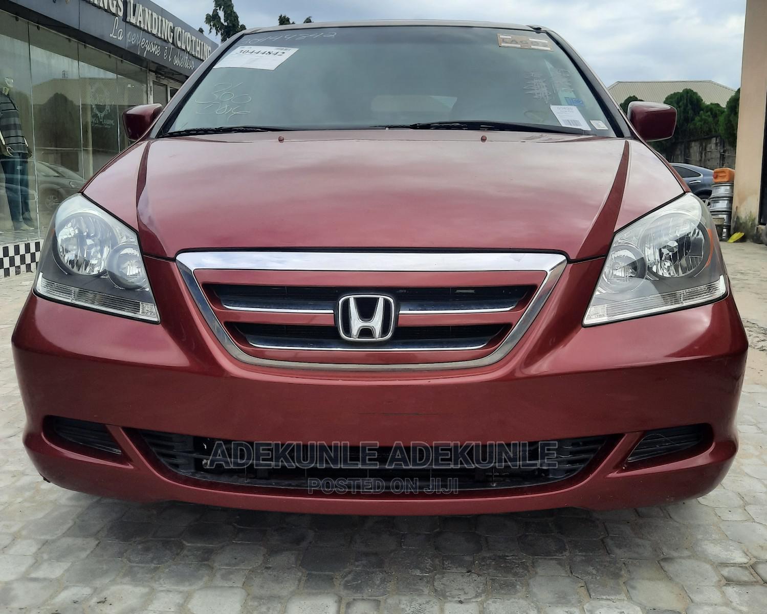 Honda Odyssey 2006 EX Burgandy