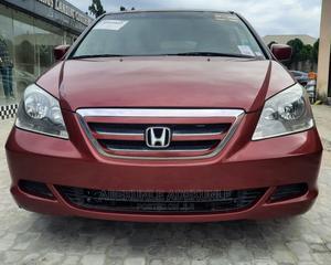 Honda Odyssey 2006 EX Burgandy | Cars for sale in Lagos State, Ajah