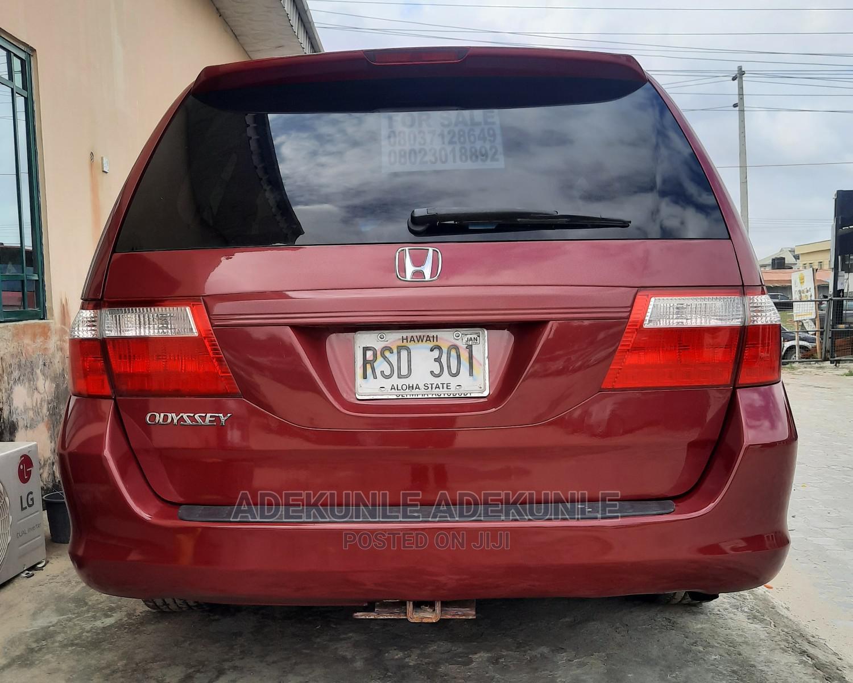 Honda Odyssey 2006 EX Burgandy | Cars for sale in Ajah, Lagos State, Nigeria