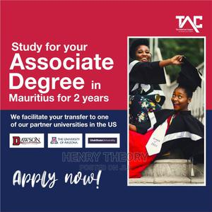 4 Years Mauritius - US Associate Degree | Travel Agents & Tours for sale in Lagos State, Ikeja