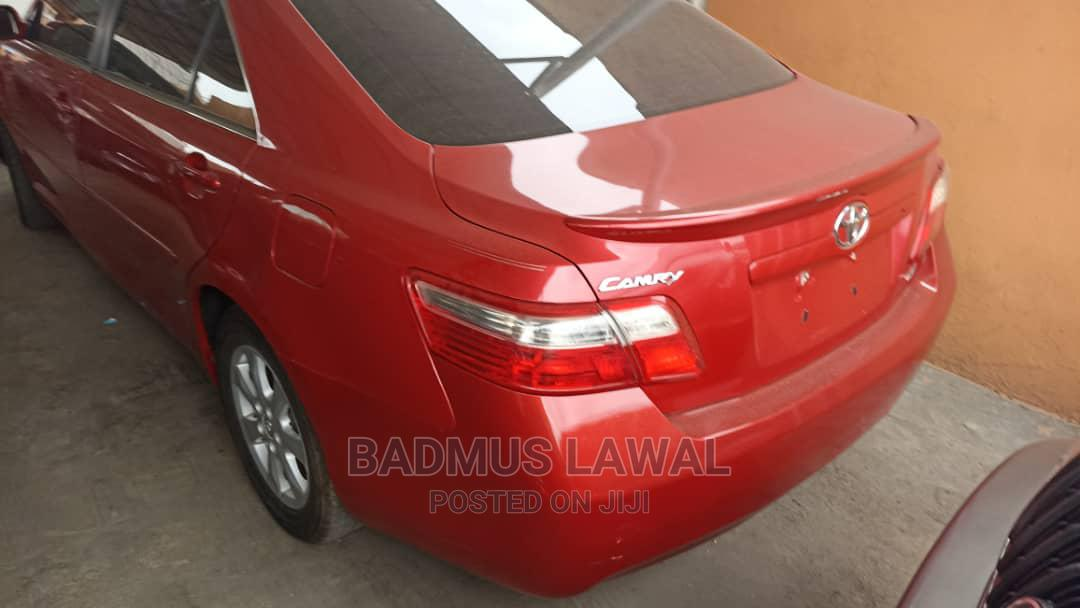 Toyota Camry 2007 Red   Cars for sale in Surulere, Lagos State, Nigeria