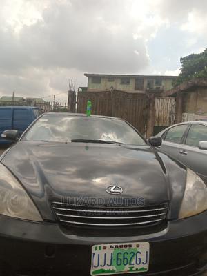 Lexus ES 2004 330 Sedan Black | Cars for sale in Lagos State, Abule Egba