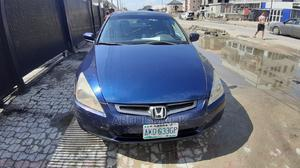 Honda Accord 2004 Automatic Blue | Cars for sale in Lagos State, Lekki