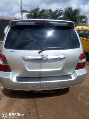 Toyota Highlander 2005 Limited V6 Silver | Cars for sale in Lagos State, Alimosho
