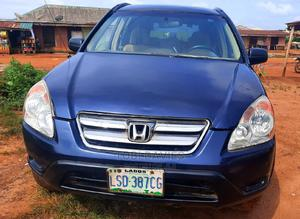 Honda CR-V 2004 EX 4WD Automatic Blue   Cars for sale in Lagos State, Ikorodu