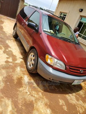 Toyota Sienna 2003 LE Red   Cars for sale in Lagos State, Ikeja