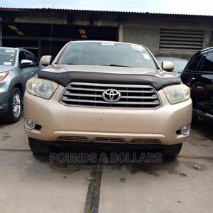 Toyota Highlander 2008 Limited 4x4 Gold | Cars for sale in Lagos State, Apapa