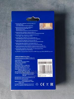 Redmi Power Bank 10000mah Capacity   Accessories for Mobile Phones & Tablets for sale in Lagos State, Ikeja