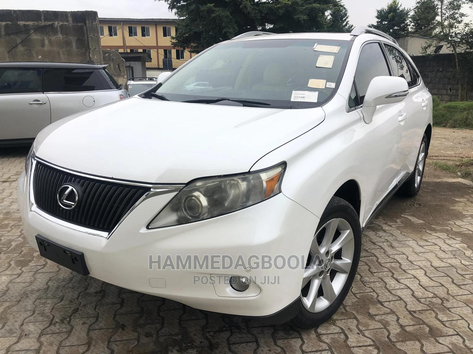 Lexus RX 2011 350 White   Cars for sale in Ikeja, Lagos State, Nigeria