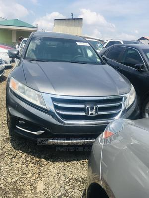Honda Accord Crosstour 2013 EX-L W/Navigation AWD Gray   Cars for sale in Lagos State, Ojodu