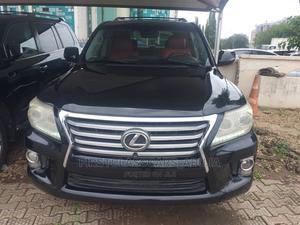Lexus LX 2012 570 Black | Cars for sale in Abuja (FCT) State, Garki 1