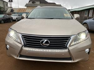 Lexus RX 2015 Gold | Cars for sale in Lagos State, Ikeja