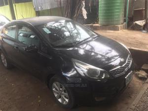 Kia Rio 2013 Black   Cars for sale in Lagos State, Surulere