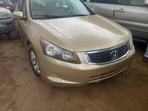 Honda Accord 2009 2.0 I-Vtec Automatic Gold | Cars for sale in Lagos State, Magodo