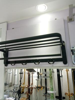 Black Towel Hanger | Plumbing & Water Supply for sale in Lagos State, Lekki