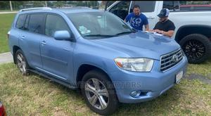 Toyota Highlander 2008 Limited Blue   Cars for sale in Lagos State, Surulere