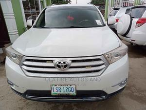 Toyota Highlander 2008 Limited White   Cars for sale in Lagos State, Ikeja