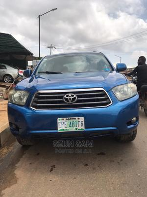Toyota Highlander 2008 Limited Blue | Cars for sale in Lagos State, Abule Egba