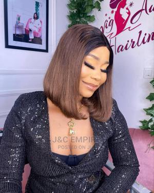 Coffe Brown Human Hair Bob | Hair Beauty for sale in Lagos State, Amuwo-Odofin