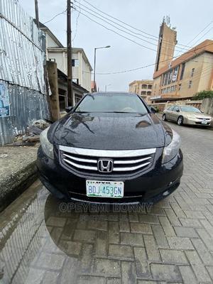 Honda Accord 2010 Sedan EX Automatic Black | Cars for sale in Lagos State, Surulere