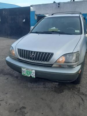 Lexus RX 1999 300 4WD Silver | Cars for sale in Lagos State, Apapa