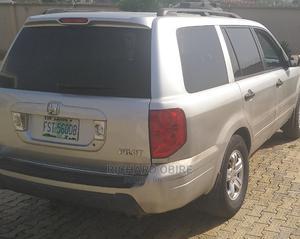 Honda Pilot 2005 EX-L 4x4 (3.5L 6cyl 5A) Silver | Cars for sale in Osun State, Osogbo
