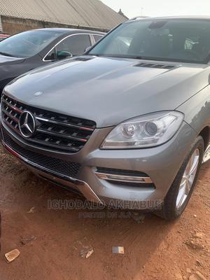 Mercedes-Benz M Class 2013 ML 350 4Matic Gray   Cars for sale in Edo State, Benin City