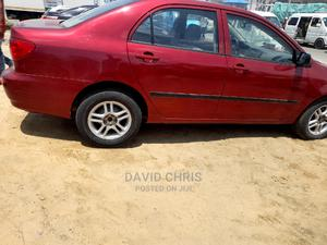 Toyota Corolla 2004 LE Red   Cars for sale in Lagos State, Ajah