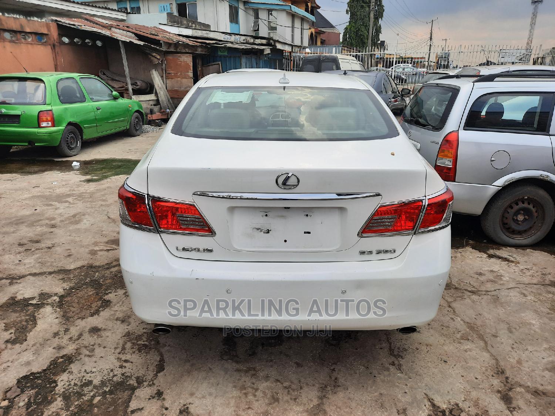 Lexus ES 2011 350 White | Cars for sale in Ikeja, Lagos State, Nigeria