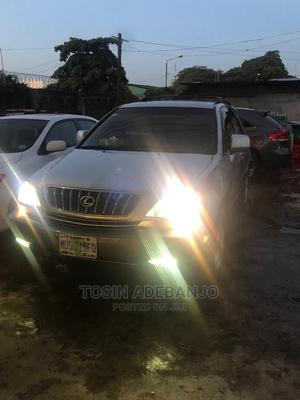 Lexus RX 2002 300 4WD Silver | Cars for sale in Lagos State, Mushin