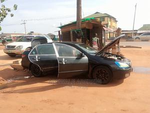 Honda Accord 2005 Sedan LX V6 Automatic Black | Cars for sale in Lagos State, Magodo