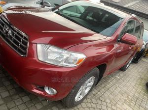 Toyota Highlander 2008 Red | Cars for sale in Lagos State, Surulere