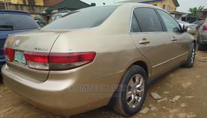 Honda Accord 2004 Sedan EX Gold | Cars for sale in Lagos State, Ikeja