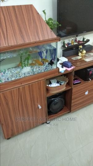Wooden Cabinet Aquarium | Pet's Accessories for sale in Lagos State, Surulere
