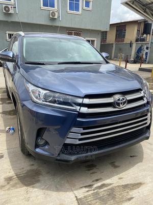 Toyota Highlander 2015 Blue | Cars for sale in Lagos State, Ikeja