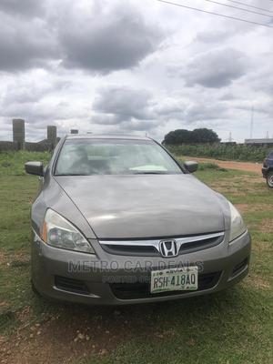 Honda Accord 2005 Sedan LX V6 Automatic Gray | Cars for sale in Abuja (FCT) State, Kaura