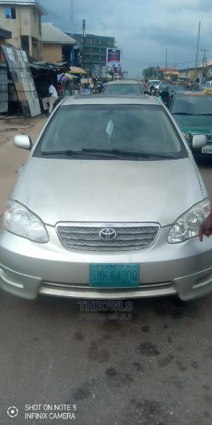 Toyota Corolla 2005 S Silver | Cars for sale in Edo State, Benin City