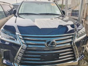 Lexus LX 2017 570 AWD Blue   Cars for sale in Lagos State, Ikeja