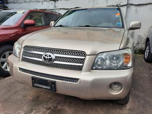 Toyota Highlander 2006 Hybrid 4x4 Gold   Cars for sale in Lagos State, Isolo