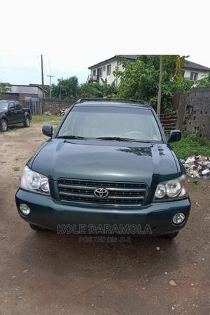 Toyota Highlander 2002 Green   Cars for sale in Lagos State, Ikotun/Igando