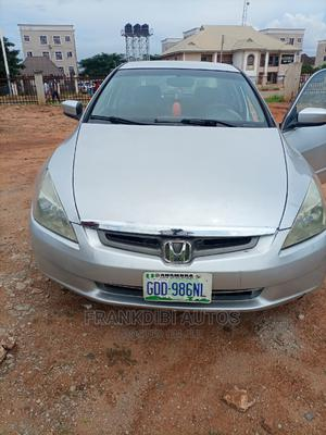 Honda Accord 2005 Sedan EX Automatic Silver | Cars for sale in Delta State, Oshimili South