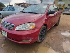 Toyota Corolla 2007 Red | Cars for sale in Lagos State, Alimosho