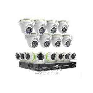 AHD CCTV Camera - Set of 16 8indoor 8outdoor, 16 Channel DVR | Security & Surveillance for sale in Lagos State, Ojo