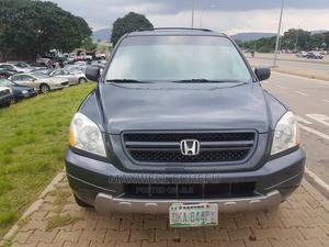 Honda Pilot 2004 EX-L 4x4 (3.5L 6cyl 5A) Gray | Cars for sale in Kaduna State, Kaduna / Kaduna State