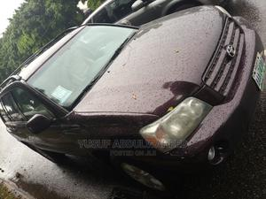 Toyota Highlander 2003 Limited V6 AWD Brown | Cars for sale in Abuja (FCT) State, Central Business District