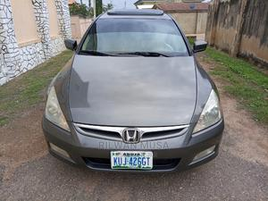 Honda Accord 2007 2.4 Exec Gray | Cars for sale in Kaduna State, Zaria