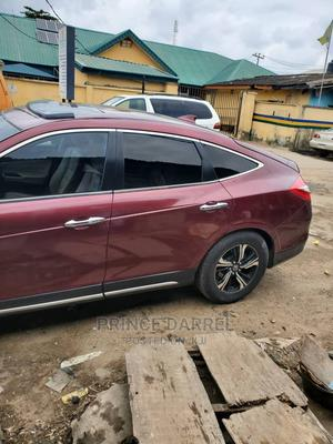 Honda Accord Crosstour 2015 EX-L AWD Red   Cars for sale in Lagos State, Yaba